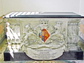 The 1st Duchess of Beaufort's Chest Tomb