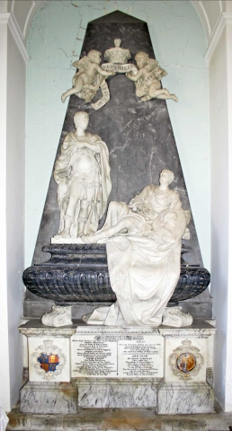 The 2nd and 3rd Duke of Beaufort's Monument by J.M. Rysbrack