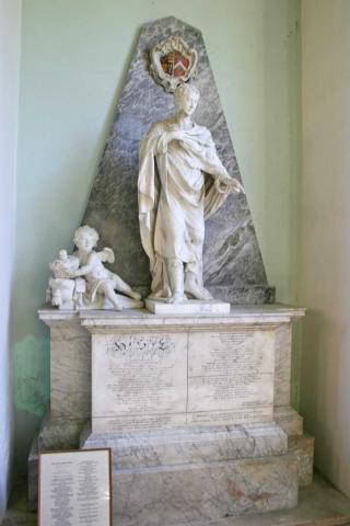 The 4th Duke of Beaufort's Monument by J.M. Rysbrack