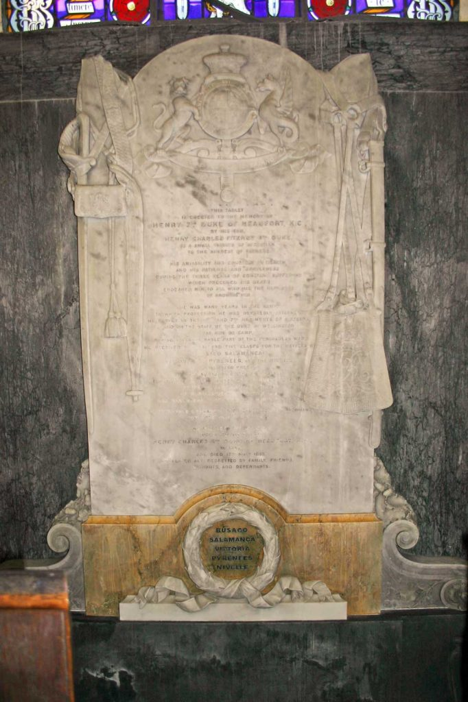 The 7th Duke of Beaufort's Memorial