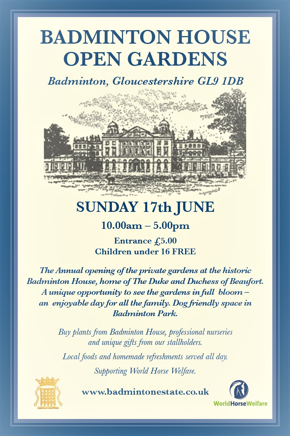 Badminton House Open Gardens 2018
