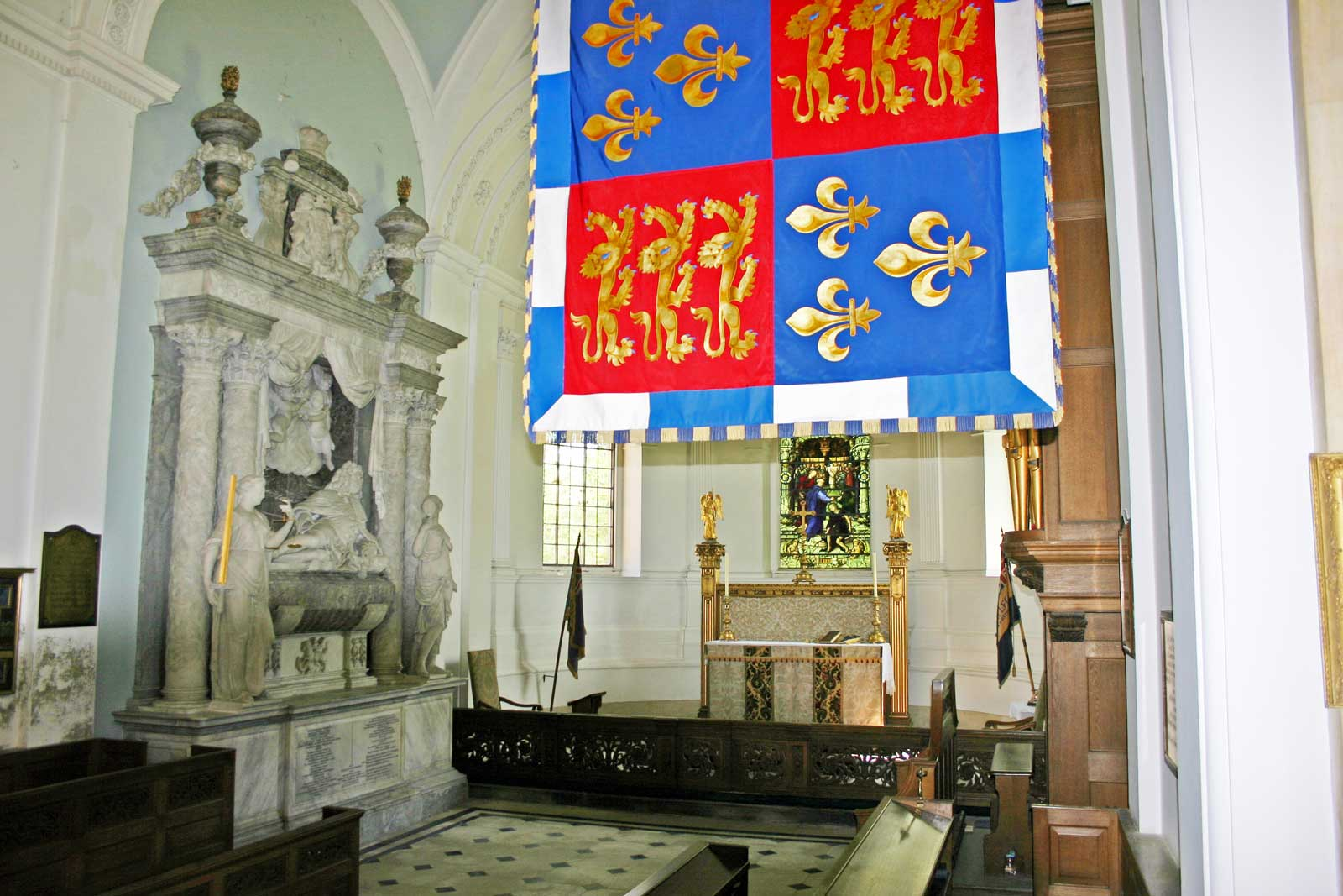 The Chancel Viewed From the Pulpit