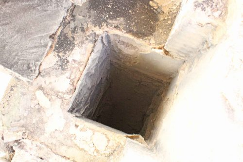 The Chimney Flue Beneath the South-East Pinnacle