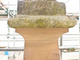 Close-Up of the New Urn Base