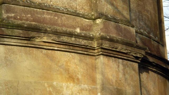 Damaged Stonework on the Apse