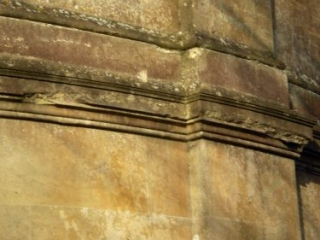 Damaged Stonework on the Apse