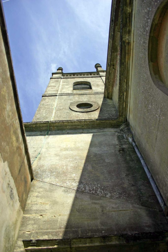 Damage to the Tower and Outer Porch