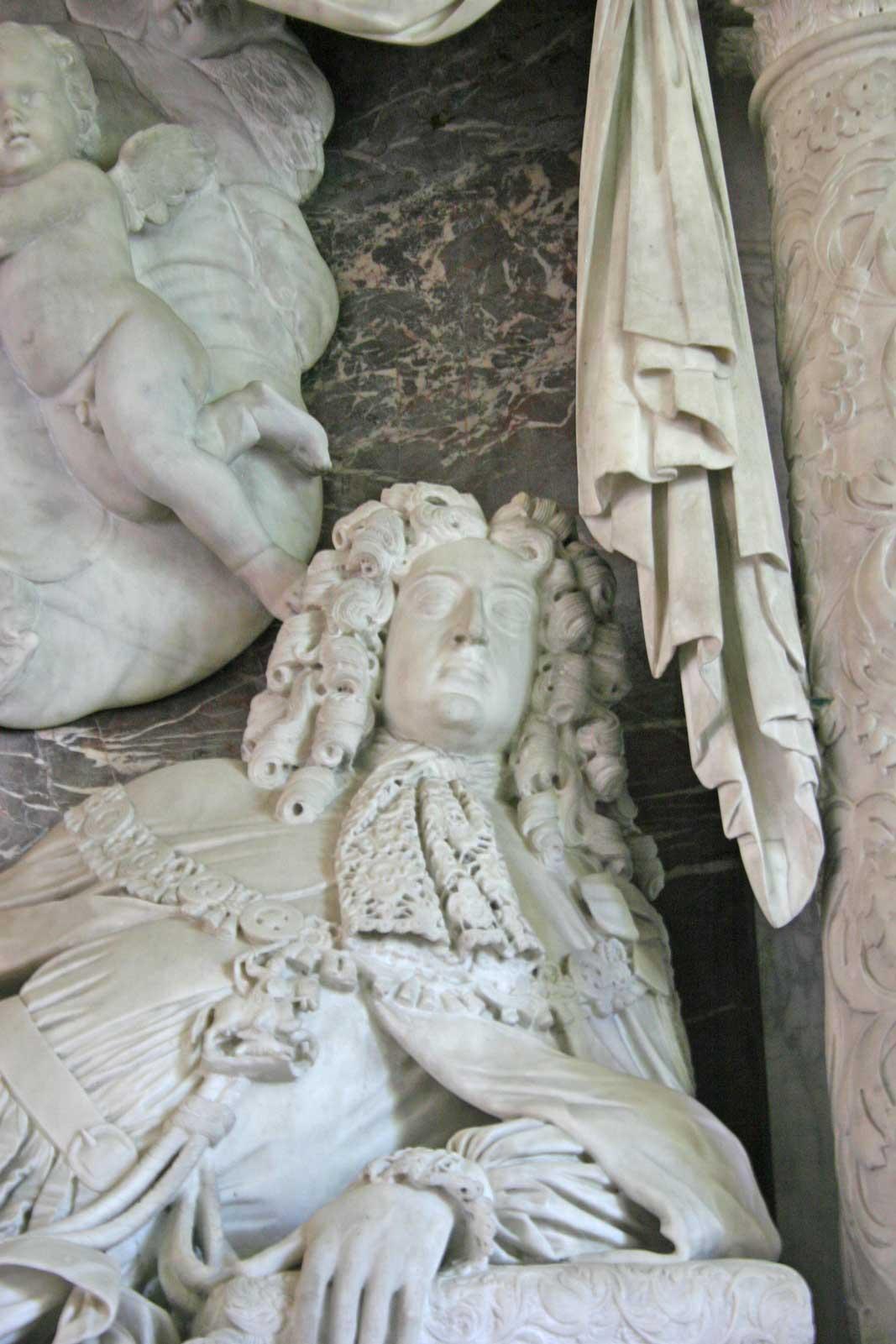 Effigy of The 1st Duke of Beaufort