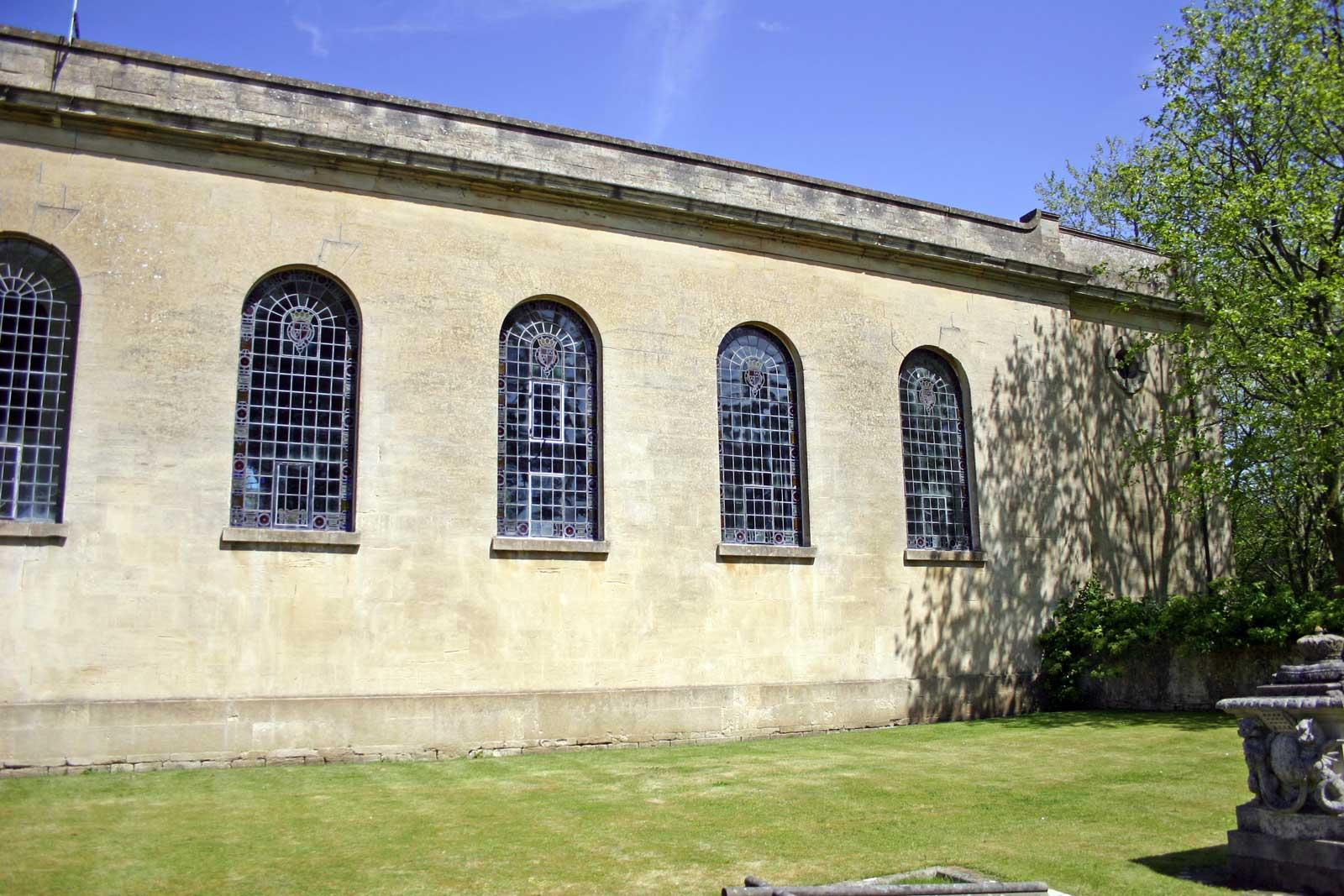 The Windows of the South Facade