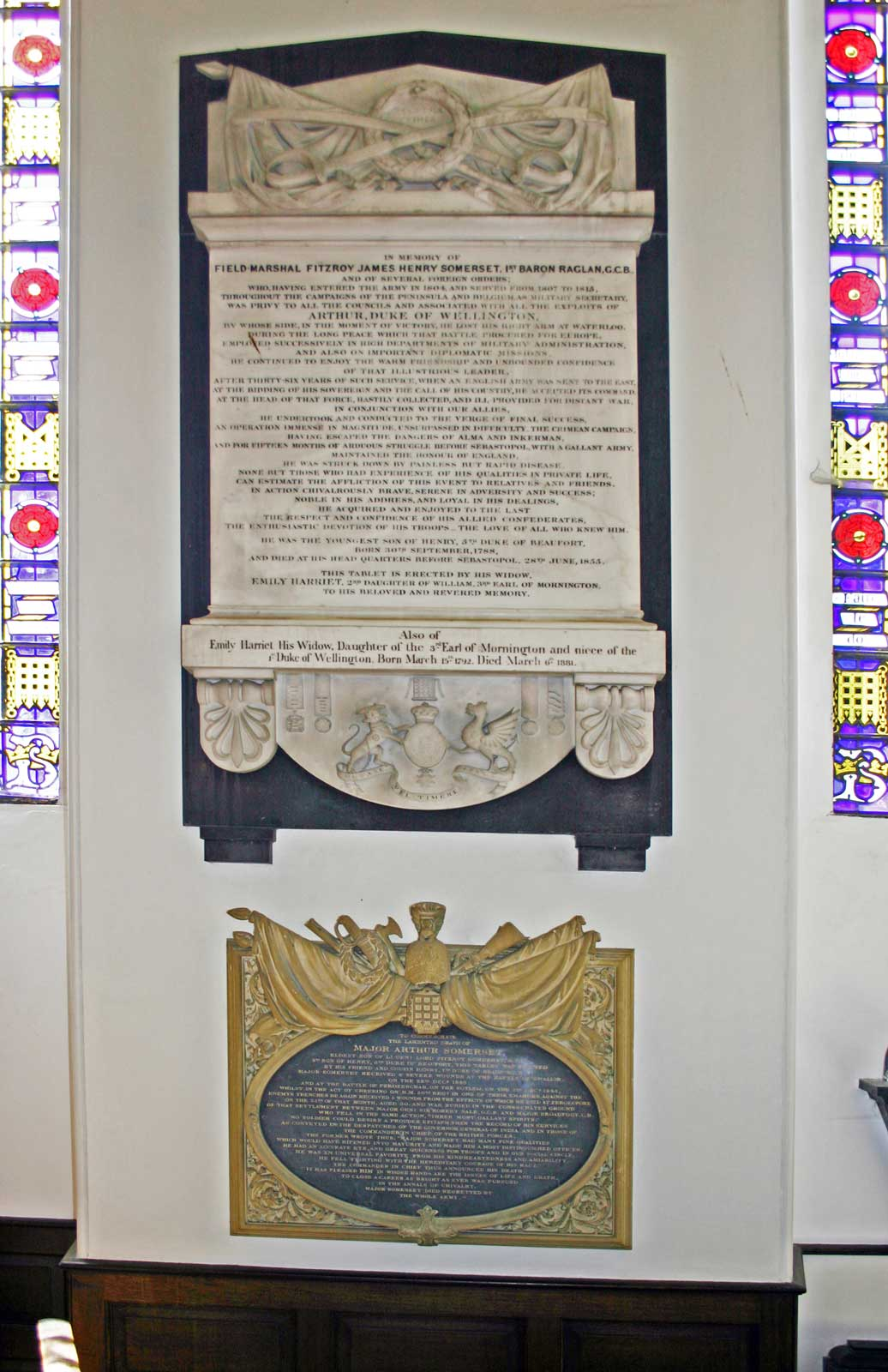 Memorial to Field Marshal Lord Raglan