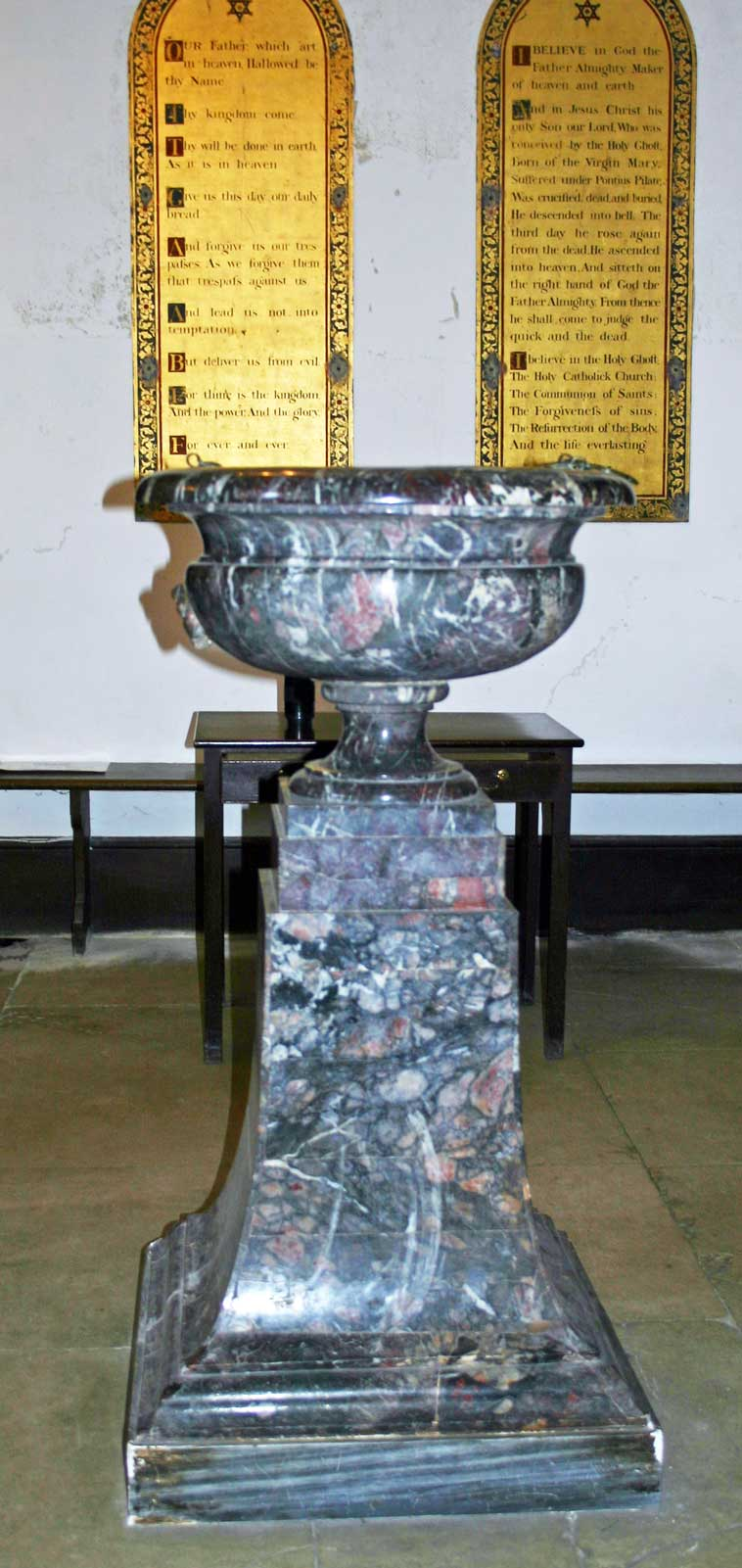 The Marble Font