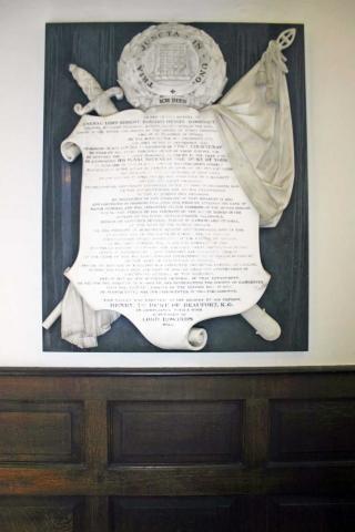 Memorial to General Lord Edward Somerset