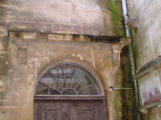 Damage to the Door's Lintel in the Outer Porch