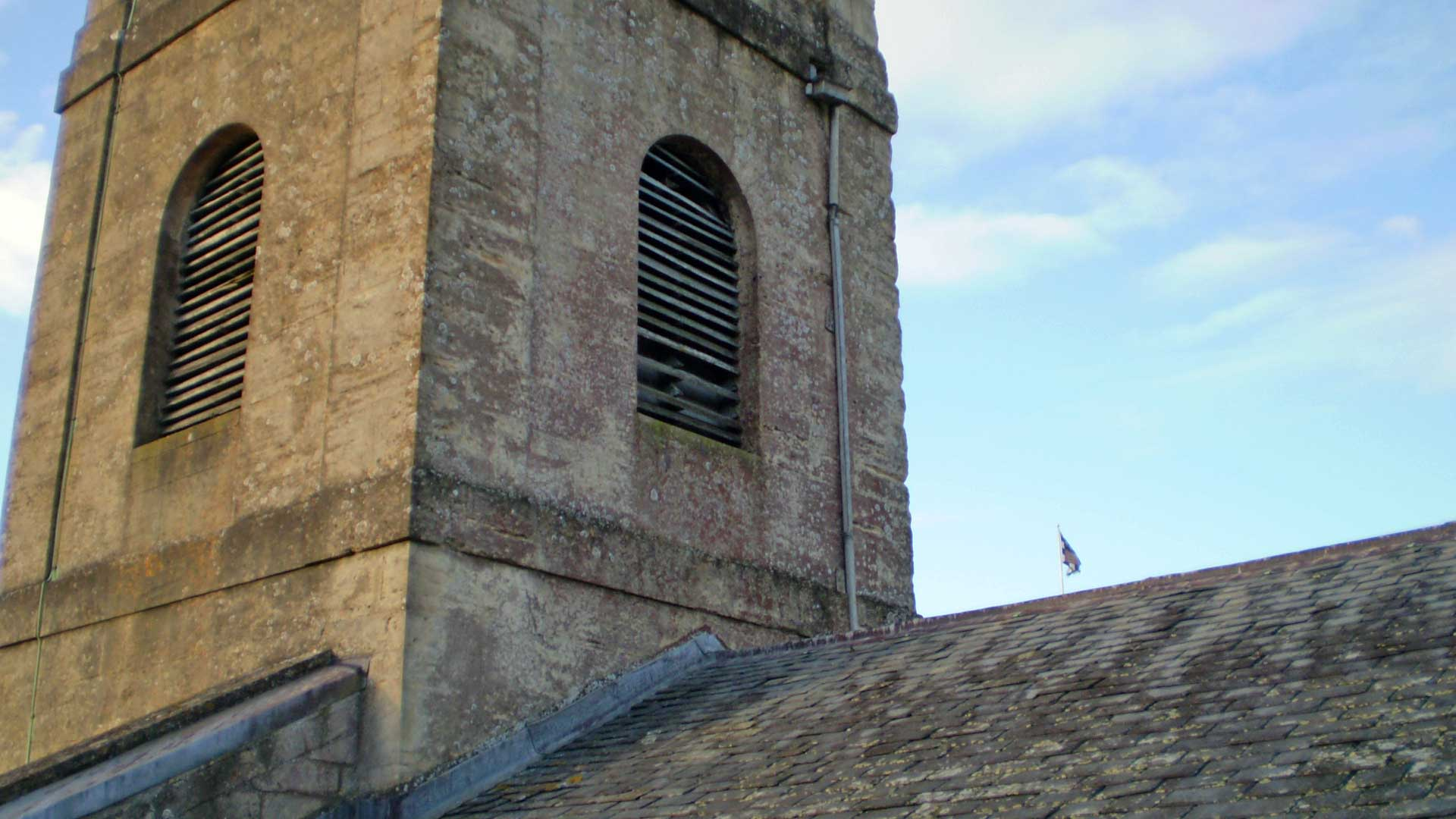 Misssing Sound Louvres in the Tower