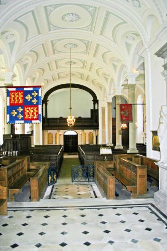 The Nave and Tribune Viewed From the Altar
