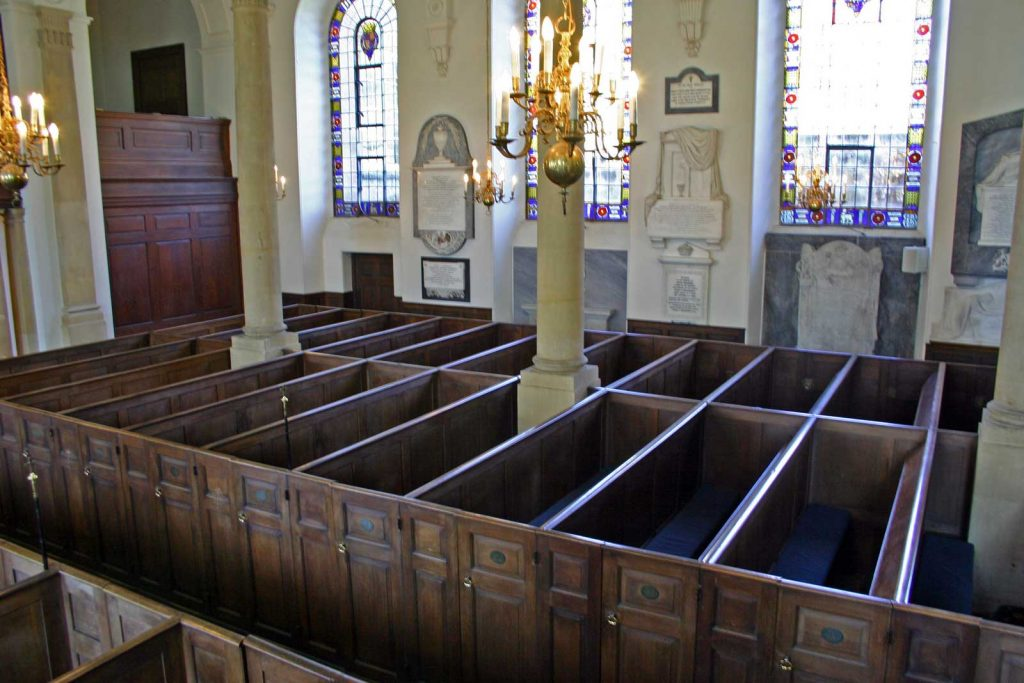 The North Pews Viewed From the Pulpit