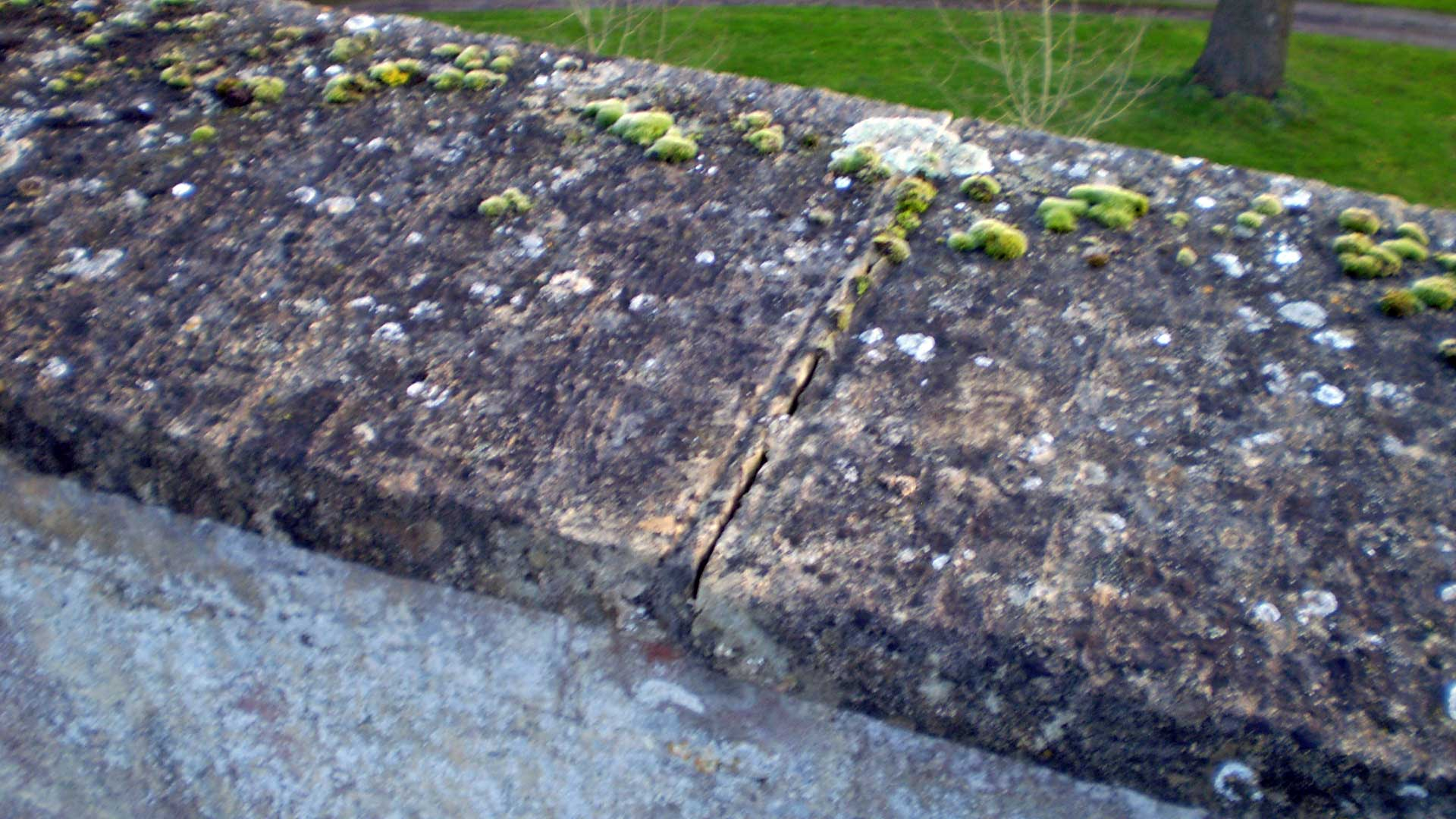 Failed Pointing on the Coping Stones