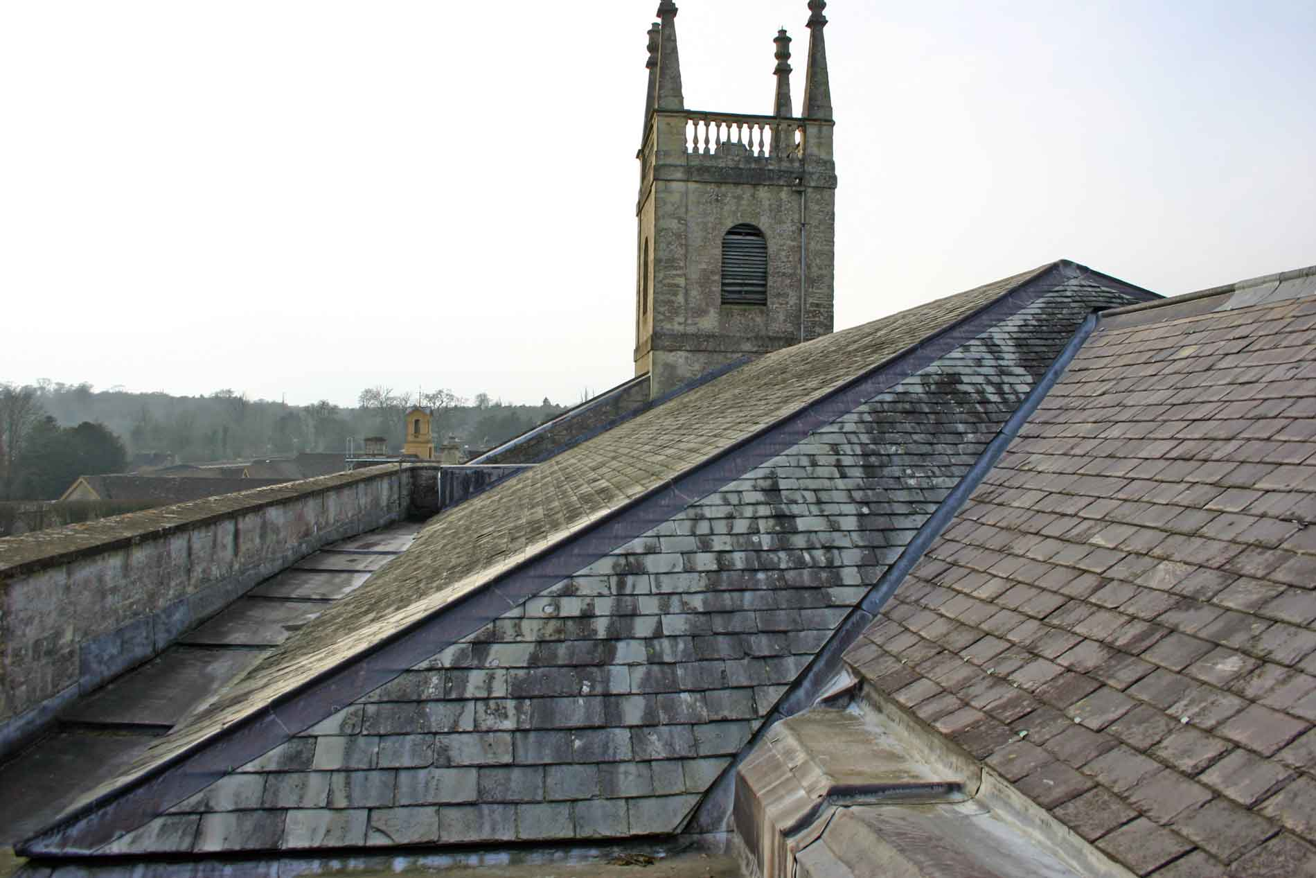 Badminton Church Roof