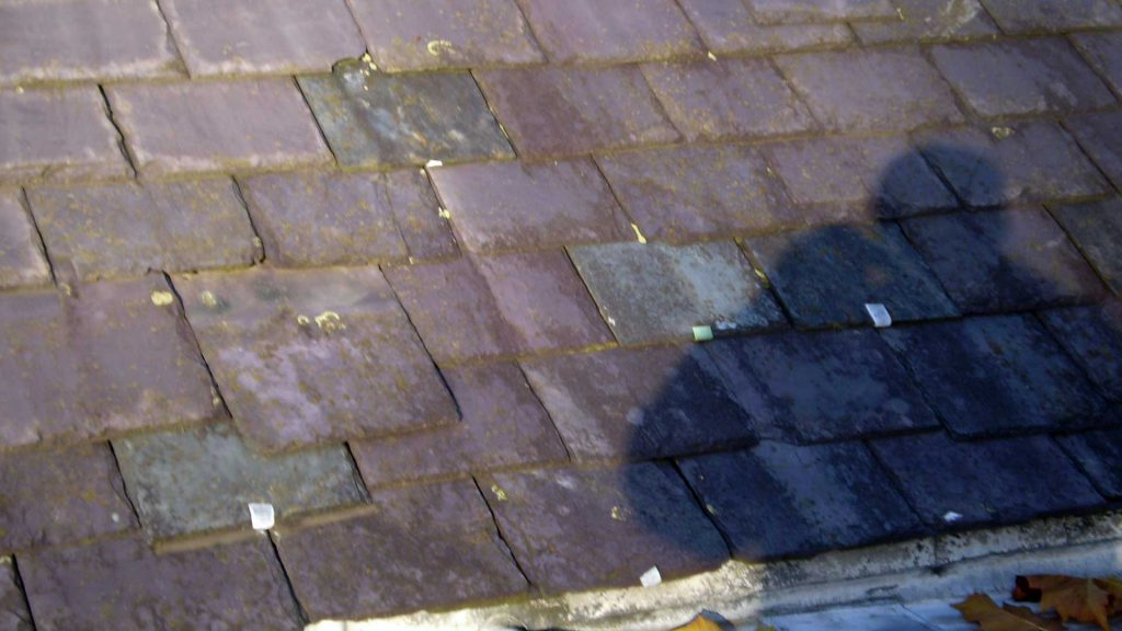 Slipped Roof Slate