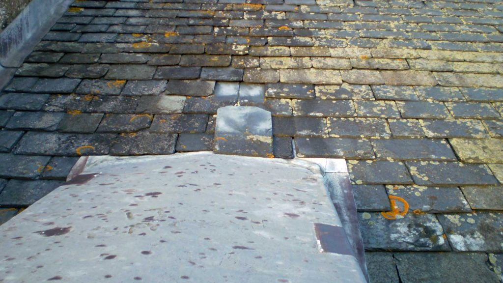 Slipped Slate on the Roof
