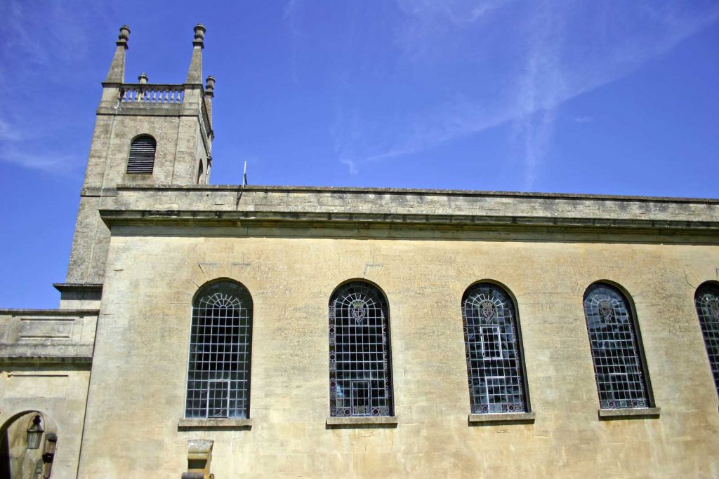 The South Facade of Great Badminton