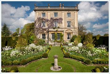 Highgrove House's Sundial Garden