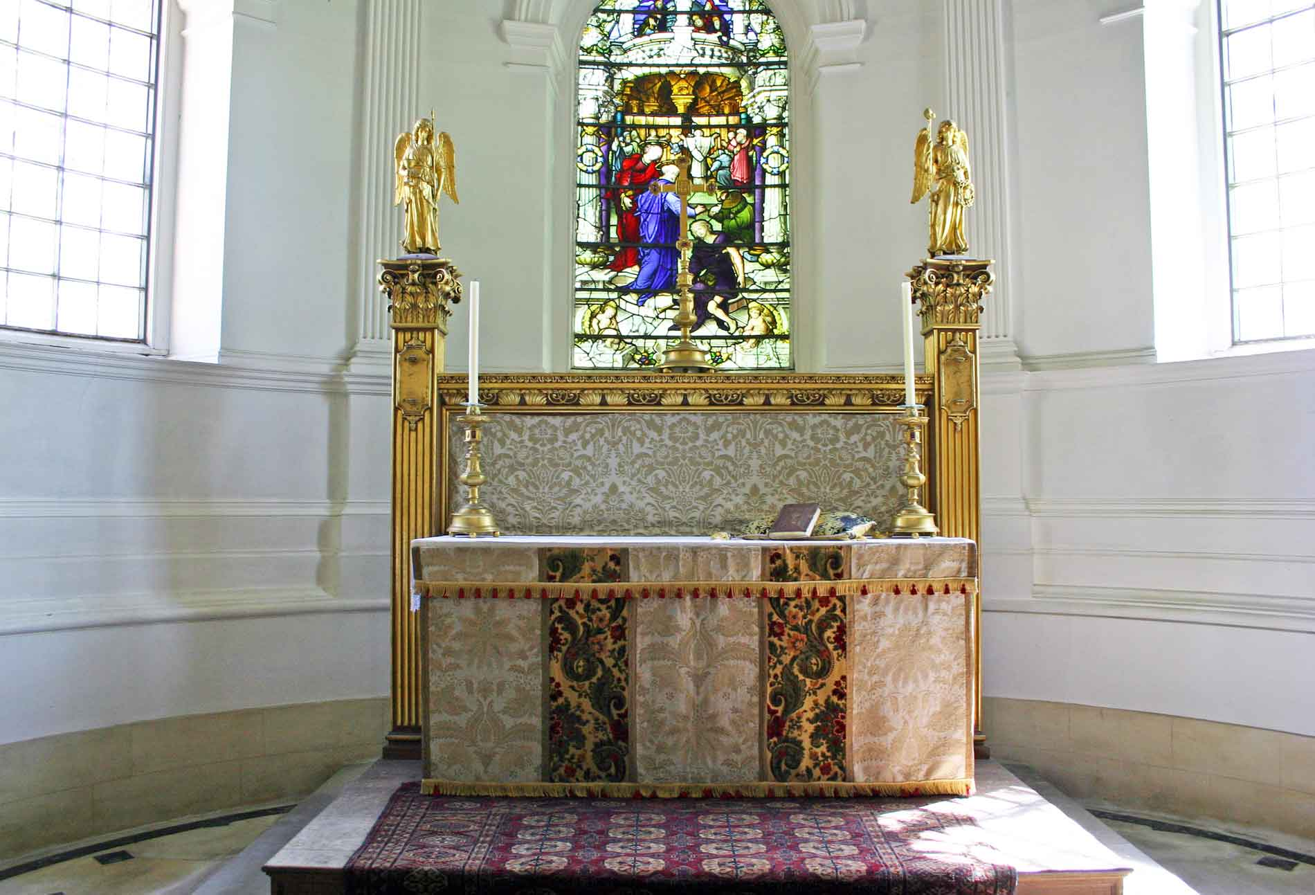 The Apse and Chancel
