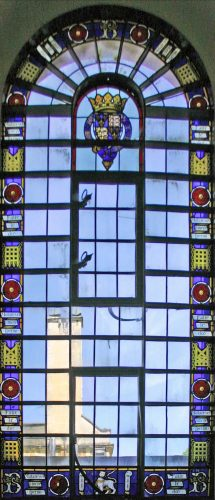 Thomas Willement Heraldic Stained Glass, 1847