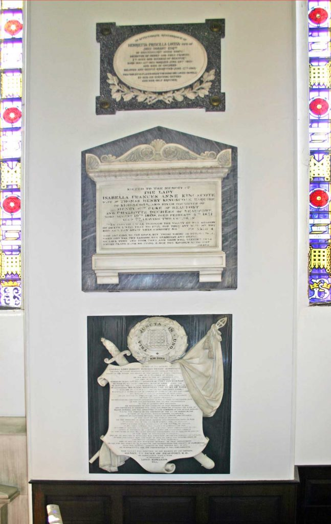 Somerset Family Memorials